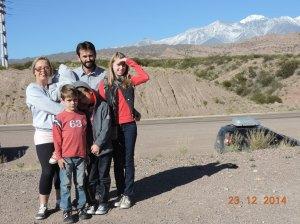 Algum lugar entre Mendoza e Aconcagua
